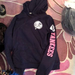 Pink Yankees hoodie